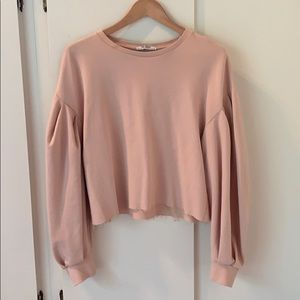 Zara Bubble Sleeve Sweater